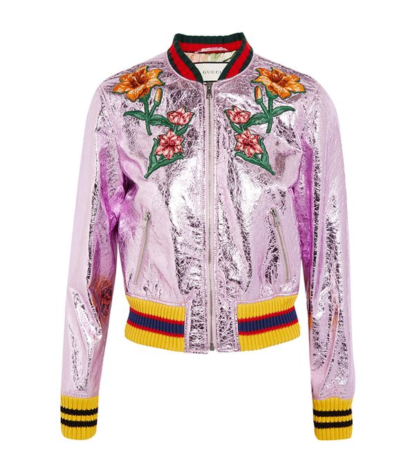 embroidered Gucci jacket
