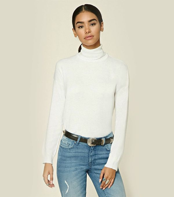 Forever 21 Knit Turtleneck Sweater