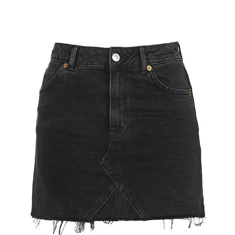 Moto Highwaist Short Skirt
