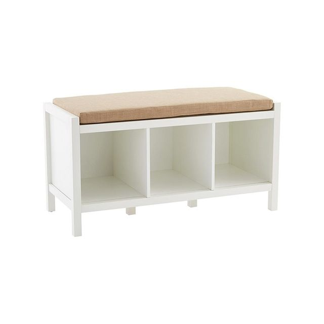 The Container Store Division Storage Bench