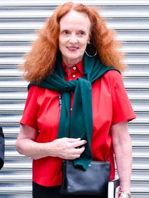 "The Model Grace Coddington Has ""Great Hopes For"""