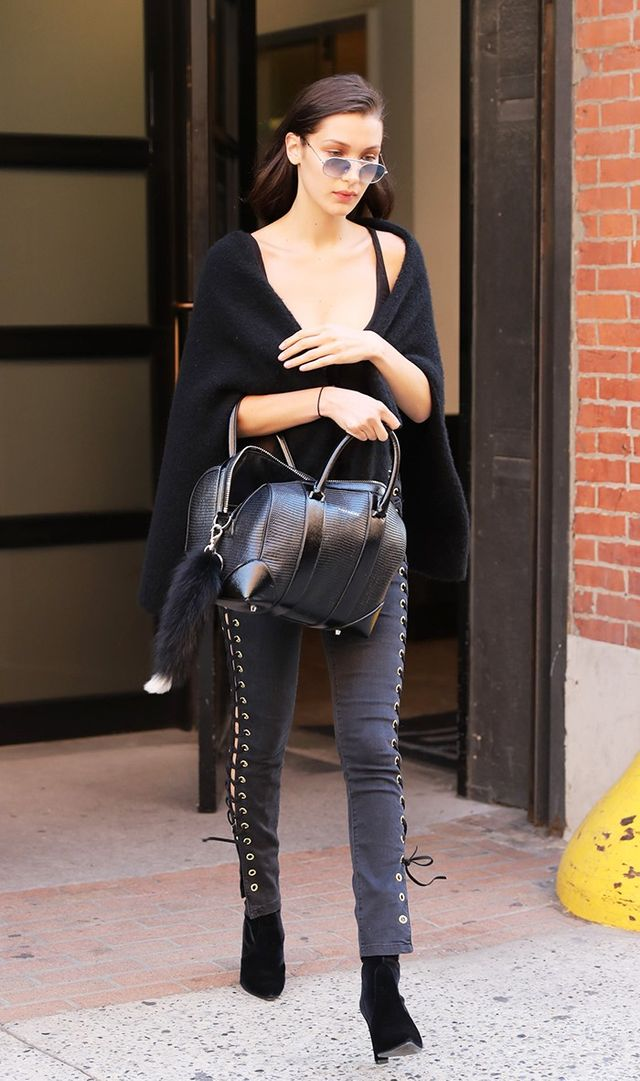 Way ahead of the game, Hadid wore the booties to finish off a casual look in New York on July 11.