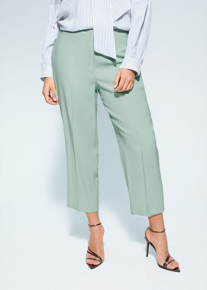 Mango Straight Suit Pants