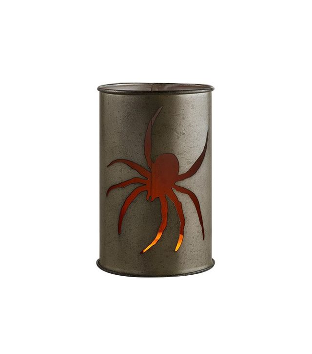 World Market Tin Spider Candleholder
