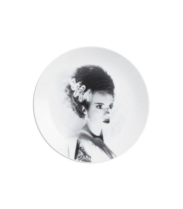 World Market Bride of Frankenstein Plates