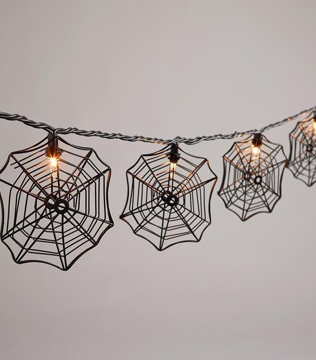 World Market Spider Web String Lights