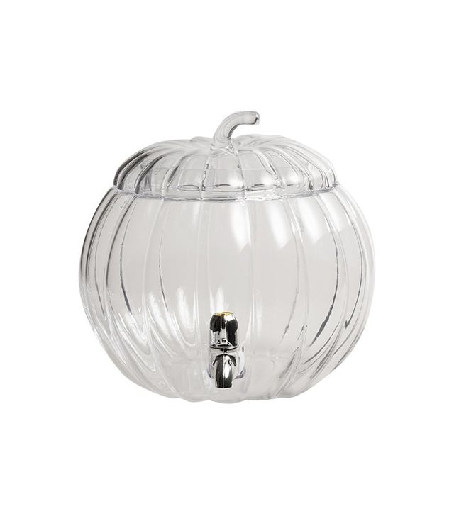 World Market Glass Pumpkin Drink Dispenser