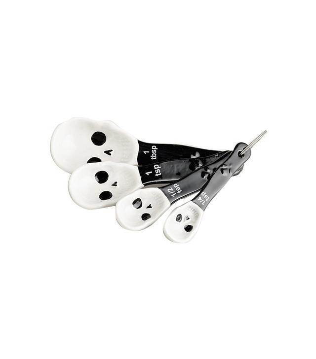 World Market Skull Ceramic Measuring Spoons