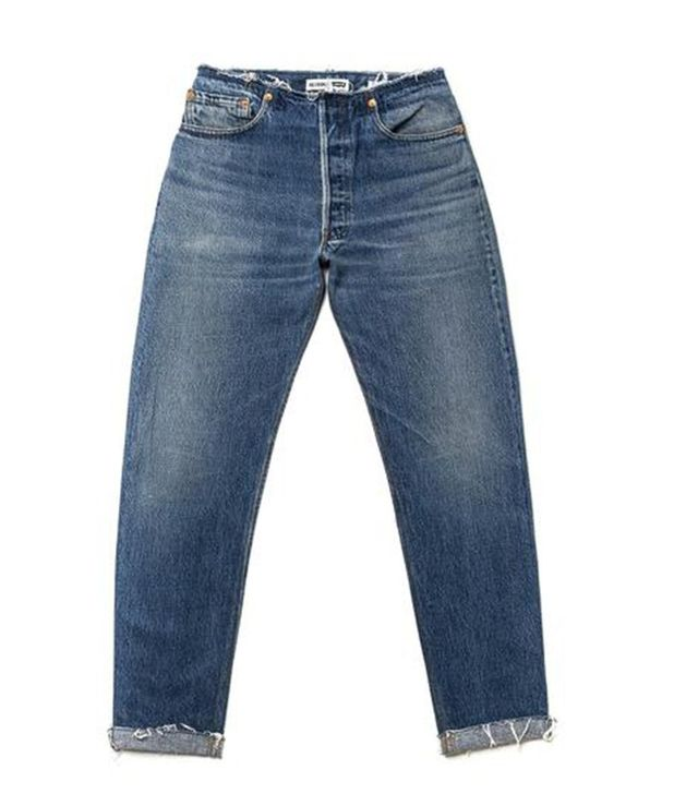 Re/Done No Waist Jeans