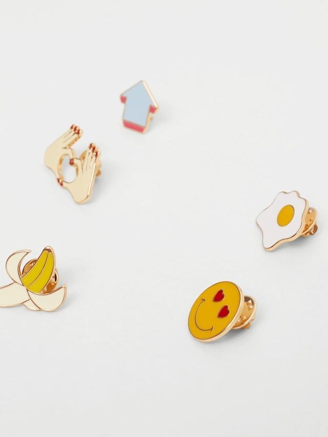 Mango Brooch Clasp Set