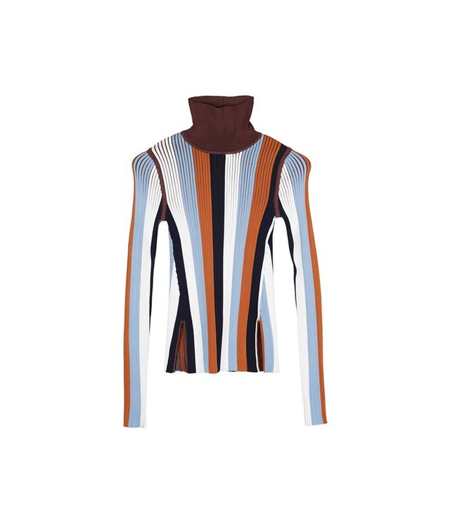 PH5 Lois Ribbed Multicolor Turtleneck Top