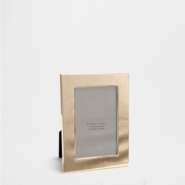 Zara Home Golden Metal Frame