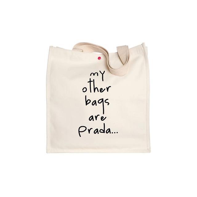 Bagladies My Other Bags Are Prada Tote