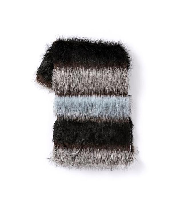 West Elm Faux Fur Throws