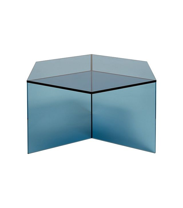 Neocraft Small Blue Hexagon Side Table