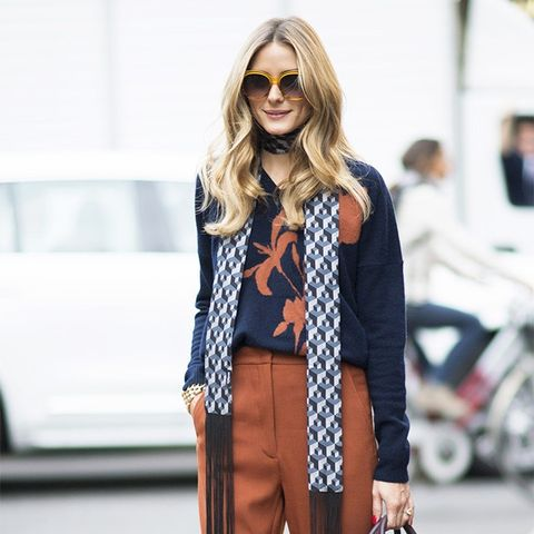 Olivia Palermo Wore the Color That's About to Be Everywhere