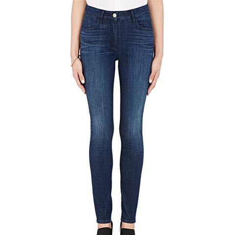 High Rise Channel Jeans