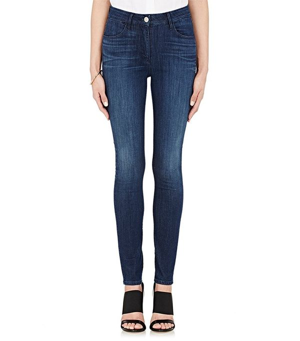 3x1 High Rise Channel Jeans