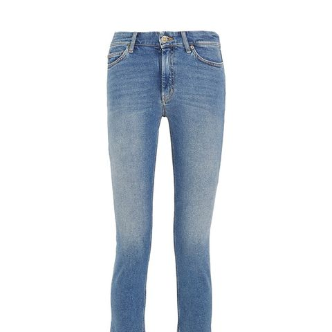 Niki Corpped High-Rise skinny Jeans