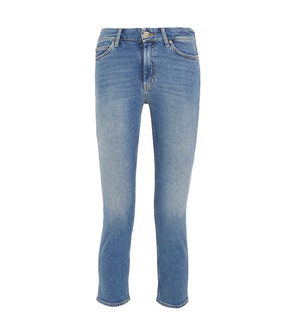 M.I.H. Jeans Niki Corpped High-Rise skinny Jeans