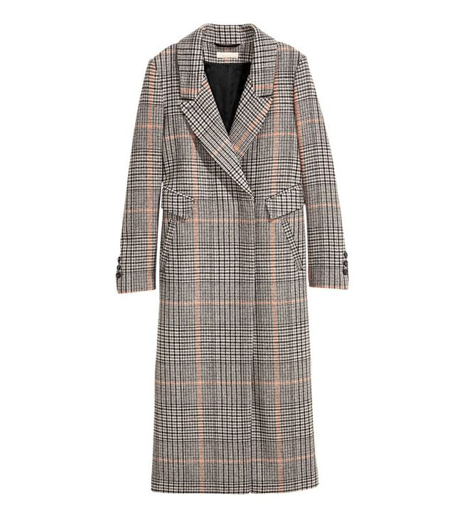 H&M Long Wool-blend Coat