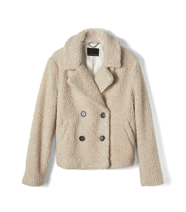 Banana Republic Short Teddy Coat