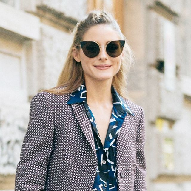 Olivia Palermo Pulled Off Three Different Prints at the Same Time