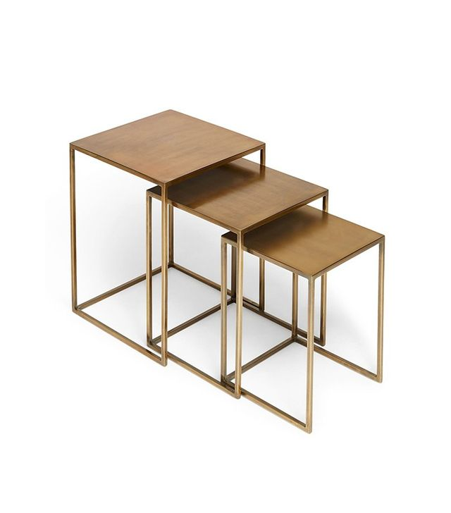 ABC Carpet & Home 3-Piece Nesting Table Set