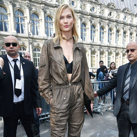 Celebrity Outfits From Paris Fashion Week