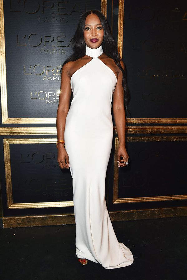 WHO: Naomi Campbell  WHAT: L'Oreal Paris party