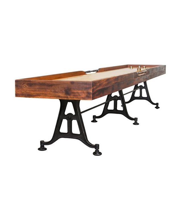Nuevoliving Reclaimed Wood Shuffleboard Table