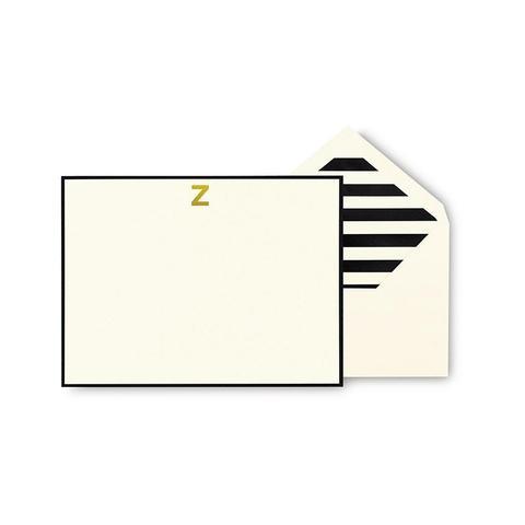 Monogrammed Correspondence Cards
