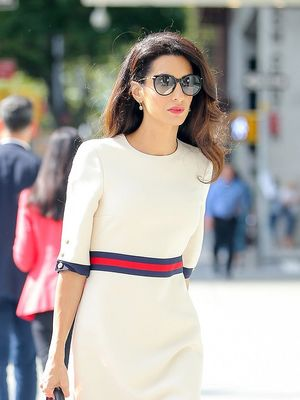 Amal Clooney's Retro Bag Completely Makes Her Outfit
