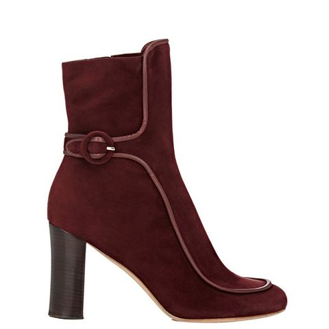 Sam Piped Ankle Booties