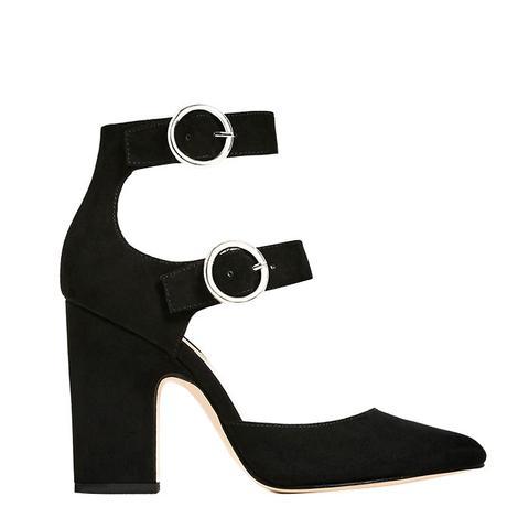 Buckled High Heel Shoe