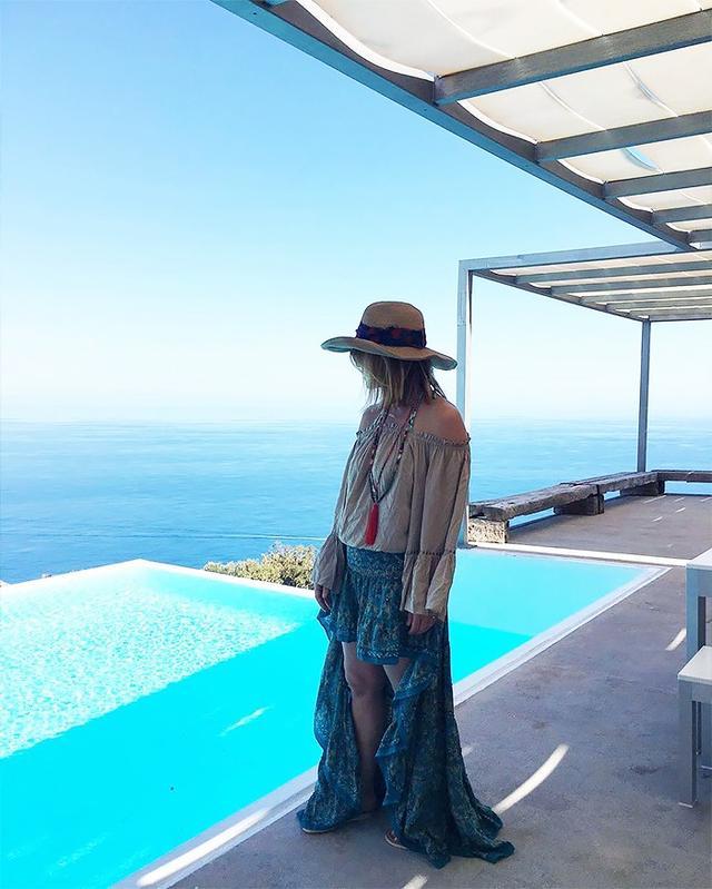 elyse walker on vacation