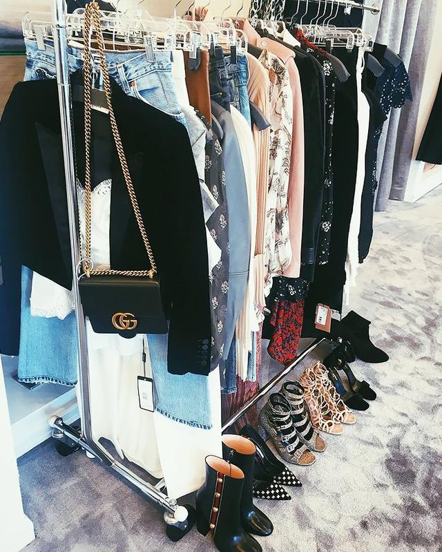elyse walker clothing rack