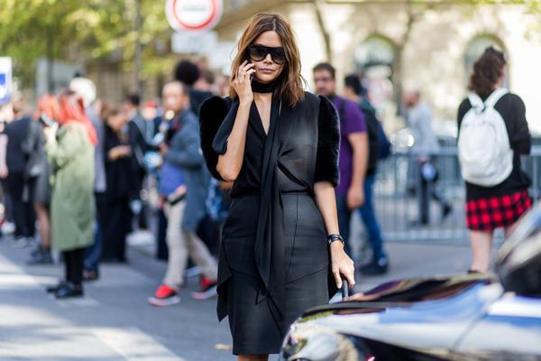 Christine Centenera paris fashio week street style