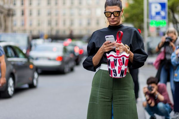 Giovanna Battaglia paris street style