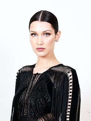 The Surprising Men's Product Behind Bella Hadid's Sleek Locks
