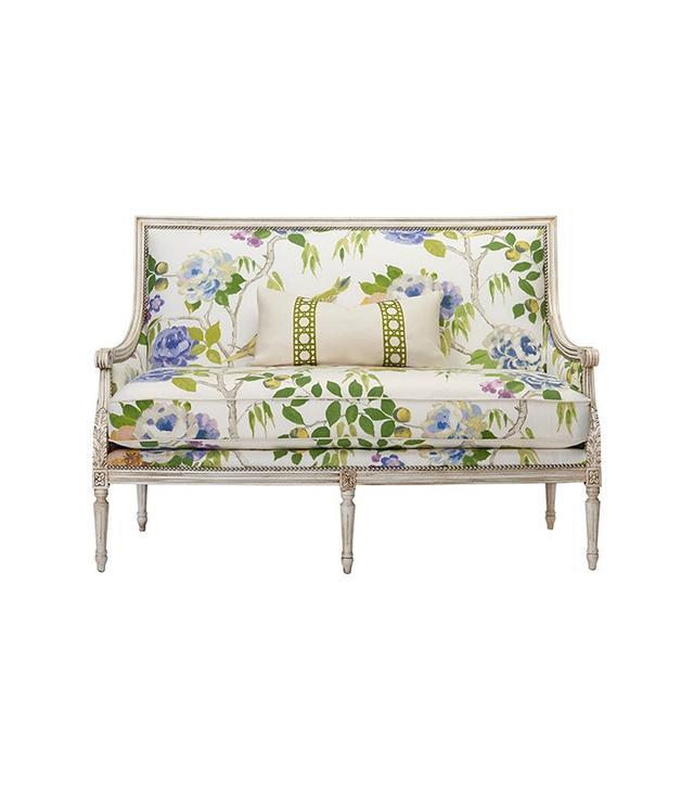 Massoud Furniture Oakridge Settee