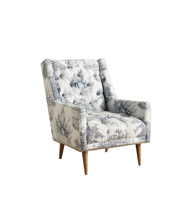 Anthropologie Willowherb Booker Armchair