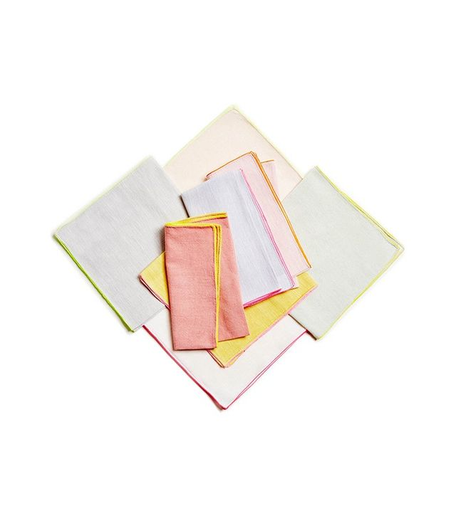 ABC DNA Glo Neon Piping Napkins