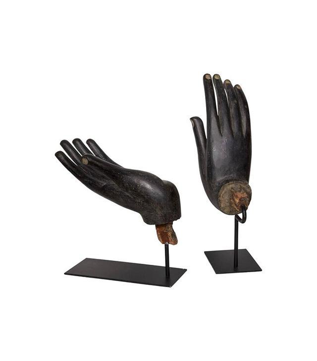 1stdibs Black Buddha Hands