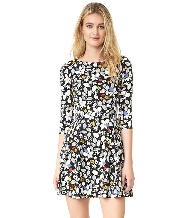 Suno Fit & Flare Dress