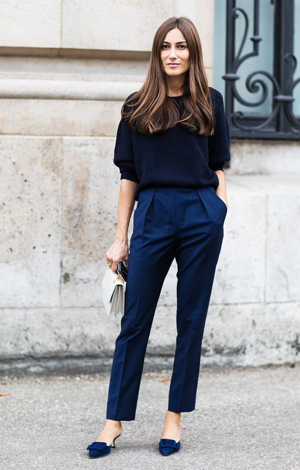 navy work outfit idea