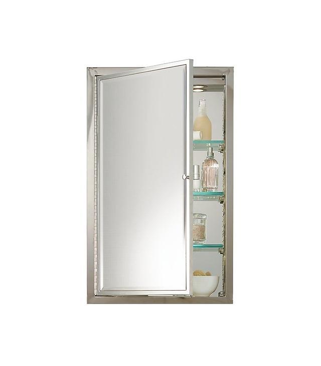 Restoration Hardware Framed Lit Medicine Cabinet