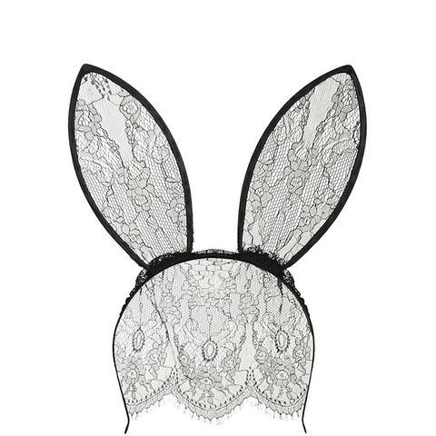 Lace Veil Bunny Ears Hairband