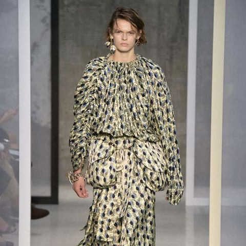 Marni's Spring Collection Puts a Fresh Spin on Ladylike Dressing