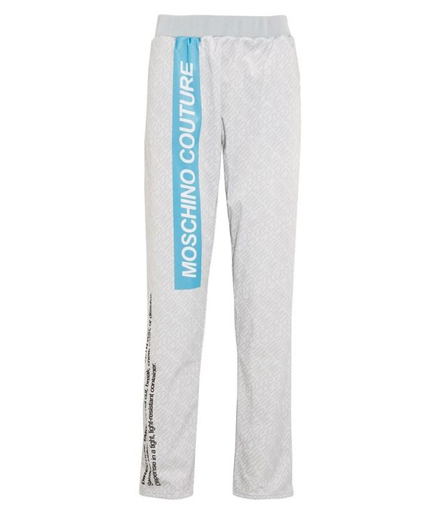 Moschino Printed Jersey Trackpants